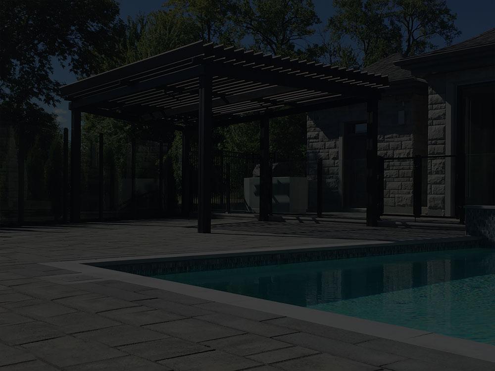 sunlouvre pergolas 0111 piscine noir sunlouvre pergolas. Black Bedroom Furniture Sets. Home Design Ideas