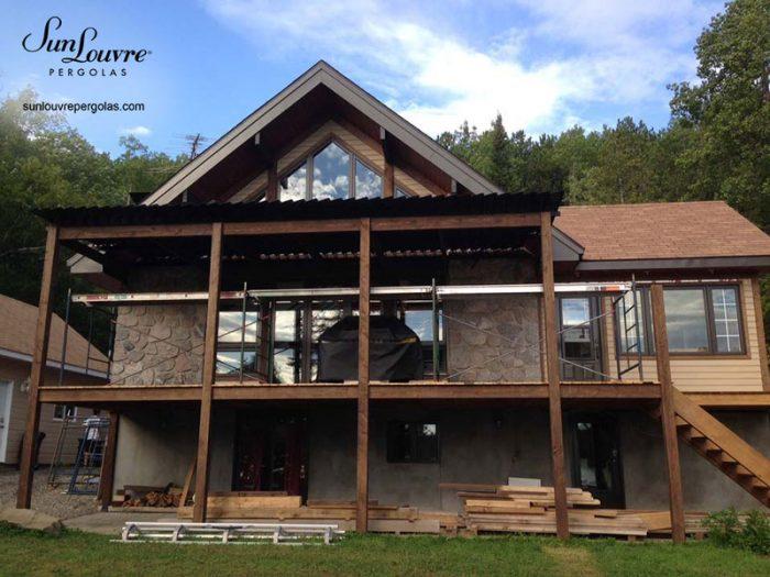 toit de pergola sur structure bois-0405