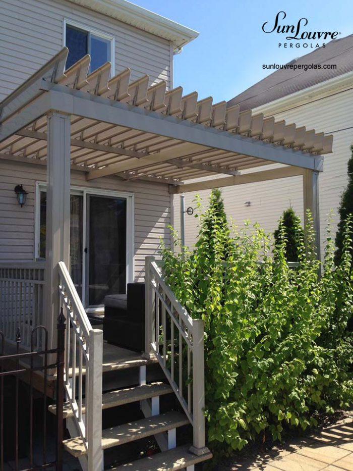 pergola balcon couleur sable beige-0235