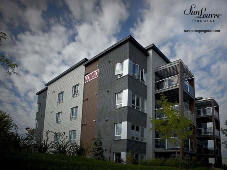 pergola toit ajustable balcon condo-0415