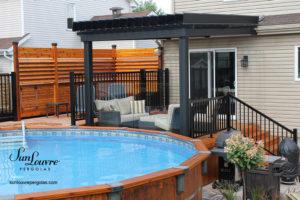 pergola attachée terrasse bois piscine-0228