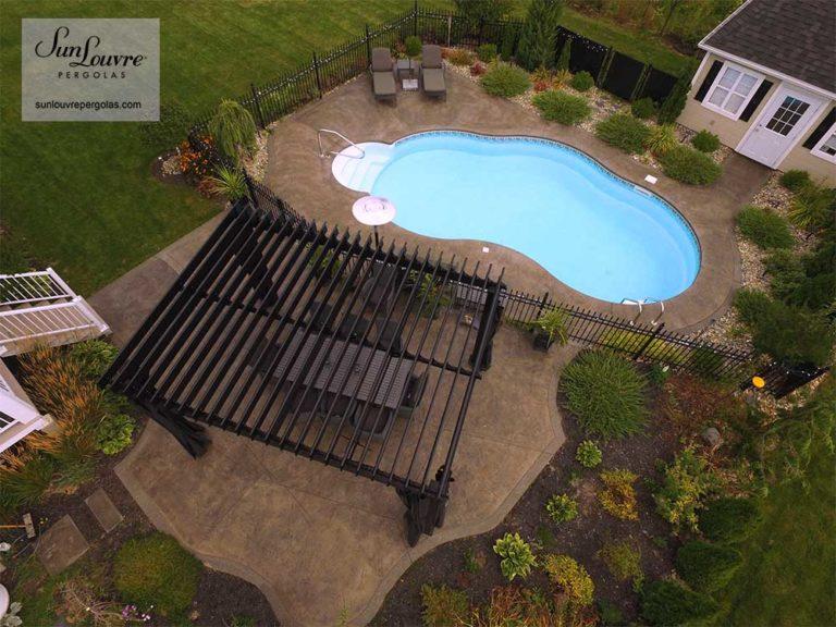 SunLouvre Pergolas jardin piscine - image 0175
