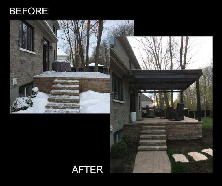 SunLouvre Pergolas - pergola image before-after avap101eng
