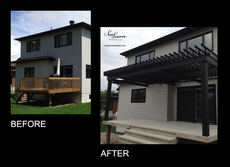 SunLouvre Pergolas - pergola image before-after 0206eng