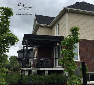 SunLouvre Pergolas résidentielle, 100% aluminium, lames orientables, bioclimatique - image 0249