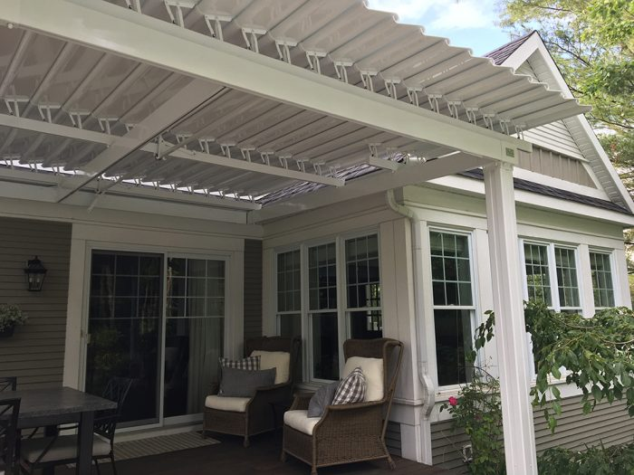 SunLouvre Pergolas, residential, attached to the wall, adjustable louvered roof pergola, 100% aluminum - image 0263