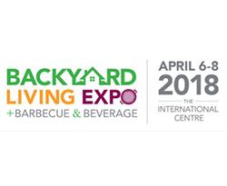 Logo Backyard Living Expo - 6 au 8 avril 2018 - Mississauga, Ontario - SunLouvre Pergolas exposant