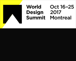 Logo World Design Summit - Sommet mondial du design - October 2017 - Montréal - SunLouvre Pergolas