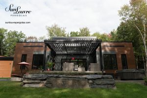 pergola, pergolas, aluminum pergola, louvered roof pergola