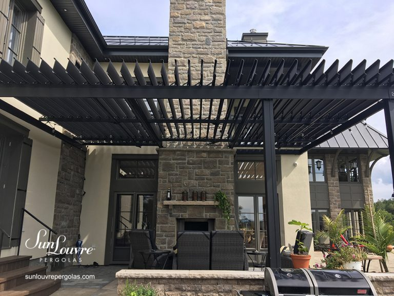 pergola, pergolas, aluminum pergola, pergola with adjustable louvers, adjustable louvers pergola