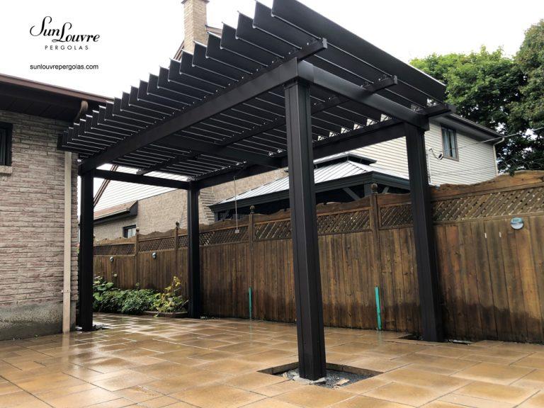 pergola, sunlouvre pergola, aluminum pergola, garden roof