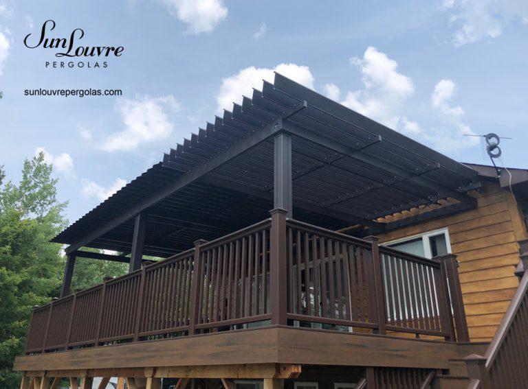 custom-made aluminum pergola, aluminum pergola, outdoor canopy, garden pergola, shelter