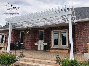pergola à lames orientables, pergola aluminium, pergola sur terrasse