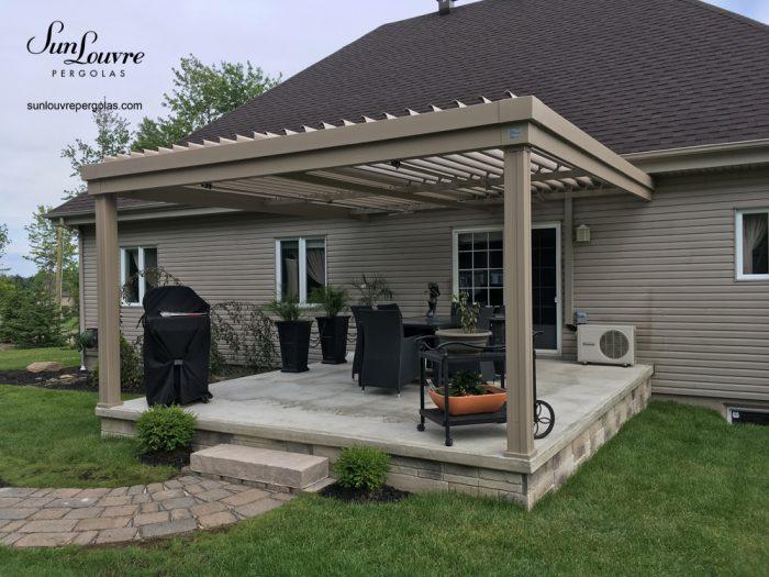 custom-made aluminum pergola, aluminum pergola, outdoor canopy, modern pergola, shelter, rainproof garden canopy