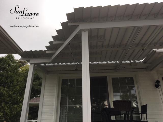 custom-made aluminum pergola, aluminum pergola, outdoor canopy, special pergola