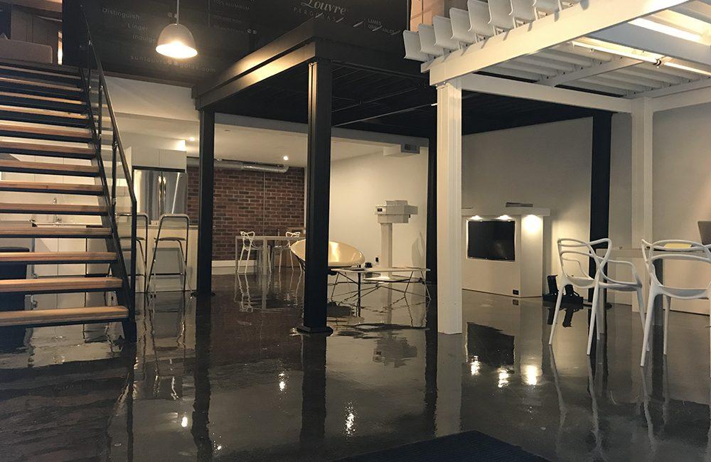 SunLouvre Pergolas Toronto Showroom